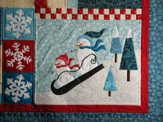 The Secret Life of Mrs. Meatloaf - detail from The Blessings of Winter by Shabby Fabrics