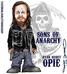 Ryan Hurst : Opie from Sons of Anarchy ( Itoondaddy )