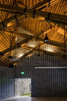 Dailai Conference Hall / Vo Trong Nghia Architects
