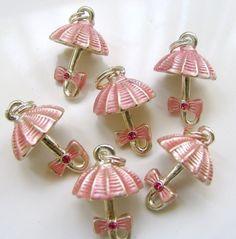 umbrella charms pink