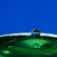 Waterdrops on Behance