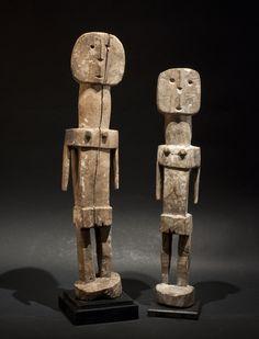 Adan Ada from Ghana. African Figurines, Wooden People, Afrique Art, African Sculptures, Art Premier, African Masks, Whittling, Tribal Art, Wood Sculpture