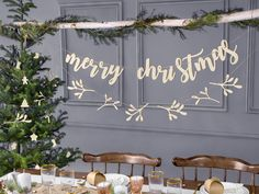 Explore our wide range of Nature inspired decorations and supplies, which are great for creating a unique Christmas scene! If you're looking to make your home feel more like the outside for Christmas this year, our Nature inspired decoration range has everything you need to achieve that. From Bunting & Garlands to Lights, Balloons, Tableware and more. Merry Christmas Banner, Merry Christmas Calligraphy, Rustic Christmas, Merry Christmas In Cursive, Christmas Dining Table, Christmas Fireplace, Christmas Feeling, Christmas Makes, Christmas Fun
