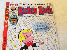 Harvey Comics c. 1979 Richie Rich The Poor Little by BuyfromGroovy      ........................................................ Please save this pin... ........................................................... Visit Now!  OwnItLand.com