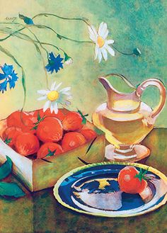 martta wendelin/finnish illustrator Flower Pots, Flowers, Finland, Martini, Illustrators, Fairy Tales, Watercolor, Artwork, Pictures