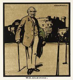 Sir William Nicholson, 'W.E. Gladstone' 1899