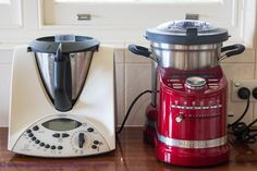 The KitchenAid Cook Processor Vs the Thermomix - My Comparison - Lambs' Ears and Honey Cooking Gadgets, Cooking Tools, Kitchen Gadgets, Kitchen Appliances, Kitchen Tools, Toy Kitchen, Kitchen Aid Mixer, Kitchenaid, Electric Skillet Recipes