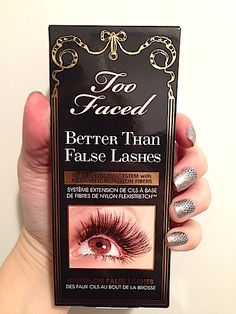c67809d3e4e Makeup Review, Before/After Photos: Too Faced Better Than False Lashes  Nylon Eye
