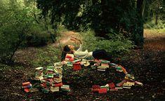 Los libros destapan la imaginación.
