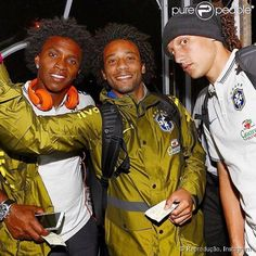 Willian, Marcelo E David Luiz