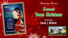 Today I am happy to feature Sweet Texas Christmas an anthology of four sweet romance stories by Stacey Coverstone, Cheryl P. Sarah J, I Am Happy, Wednesday, Texas, Romance, Sweet, Books, Christmas, Im Happy