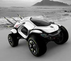 This cool concept car called the 'Hussar Dakar' could be a glimpse into the future of high-speed, off-road rally racing and is a creation of designer Klaud Wasiak.