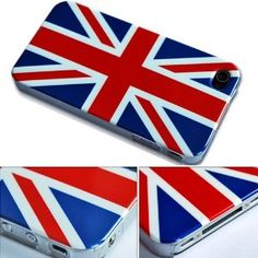 $4.36 British Flag English Flag National Flag Hard Case Cover For Apple iPhone 4 AT&T England