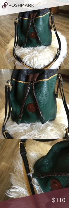 Vintage Dooney & Bourke Tote / Rare This is in such amazing vintage Condition. Some small signs of age but not much more! The color is amazing!!!!  Dooney & Bourke Bags Totes