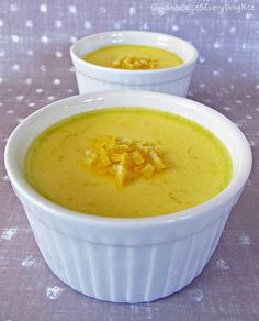 Lemon and Honey Pots de Crème (Baked Custard) by ~CinnamonGirl, via Flickr