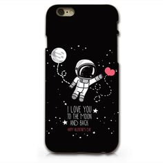 Phone cover: quote phone case quote iphone 6 iphone 6 phone case i love you to the moon and back