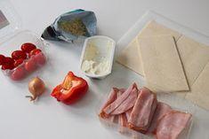 Kermaruusu: Kinkkuruukut Plastic Cutting Board, Pizza