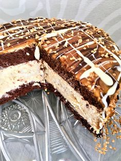 Sweet Desserts, No Bake Cake, Chocolate Cake, Tiramisu, Yogurt, Cake Recipes, Cheesecake, Food And Drink, Sweets