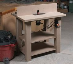 Working Class Router Table (Digital Plan)