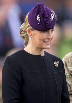 Countess of Wessex, November 2, 2012 in Jane Taylor | Royal Hats