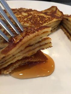 If you like pancakes that are thicker than a crepe but thinner than the usual pancake then this is the recipe for you.  This super simple...
