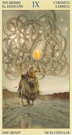 Native American Tarot - The Hermit