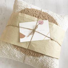 💌 #afternoonswimtextile . . #textileart #fiberart #texture #homedecor #interiors #lifestyle #pillows #packaging #slowtextiles #handmade…