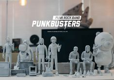 PUNKBUSTERS™ ART TOY CULTURE 2017 on Behance