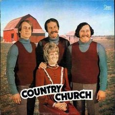 Country Church: | The 27 Most Painfully Awkward Band Photos Of All Time
