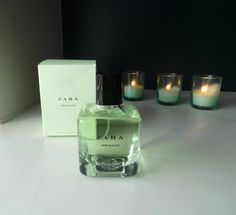 Zara perfumes are where it's at: delicious and affordable. Seeing as I was almost out of perfume entirely, I popped into the store round the. Perfume Collection, Makeup Collection, Parfum Victoria's Secret, Bath And Body Works Perfume, Apple Juice, Smell Good, Face And Body, Perfume Bottles, Beauty