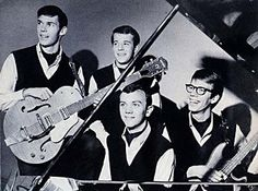 The Squires, 1964, Neil Young, left