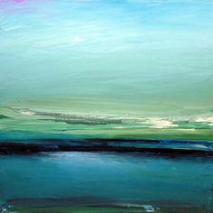 "Abstract and yet realistic; beautifully executed. Jacob Jugashvili; Oil, 2011, Painting ""Big Lake XV"""