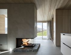 A Modern Single-Family House In The Alps