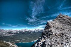 Alberta, Canada Hikes http://www.bucketlistpublications.com/2013/12/10/hiking-mount-indefatigable-in-kananaskis-alberta/