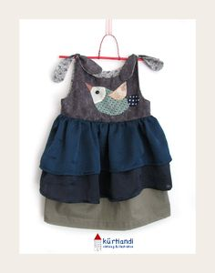 Cute...but not sure how the shoulder ties would really work with a busy 2 year old.