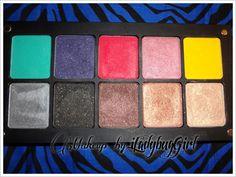 Makeup by iLadybugGirl ♥: ❤ INGLOT Eyeshadow Palette