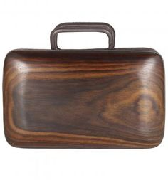 CHRISTIAN GRACIEL, Rose Wood Clutch- who would want a Coach purse when you could have this?! I love it!!
