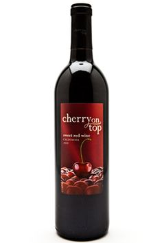 Cherry on Top ~ (not so) Sweet Red Wine