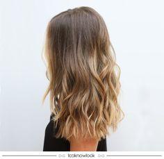 Cabelo com luzes. #cabelo #beleza #hairstyle #beauty #babyliss #luzes #inspiração #lnl #looknowlook