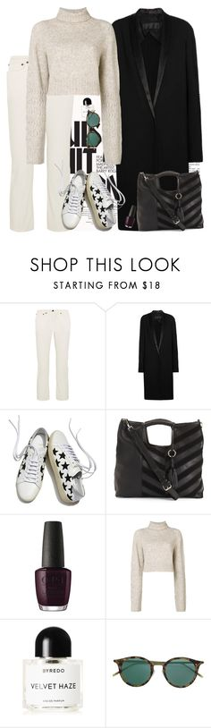 """Division"" by chelsofly on Polyvore featuring Victoria Beckham, Louis Vuitton, The Row, Haider Ackermann, Yves Saint Laurent, OPI, Diesel and Byredo"