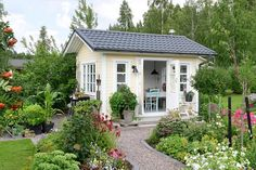 Ein Lieblingsplatz im Garten, um den Tag ausklingen zu lassen