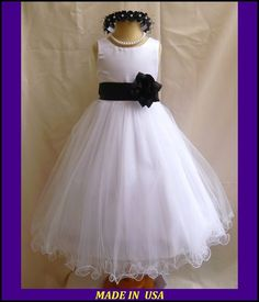 Black & white dress (for Vitabella and Lily)