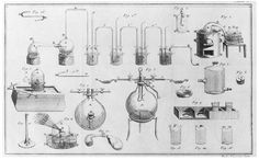 Instruments from Antoine Lavoisier's laboratory. (Library of Congress. Reproduced with permission.)