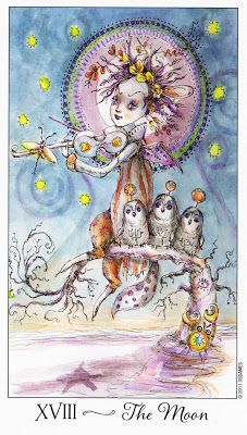 Joie de Vivre Tarot / The Moon