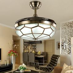 Wilson Wills Collection Invisible Ceiling Fan With Light