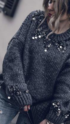 Kopier over 100 efterårstøj nu - mode - mode - Lilly is Love Knit Fashion, Look Fashion, Winter Fashion, Womens Fashion, Mode Outfits, Fall Outfits, Fashion Outfits, Jeans Fashion, Skirt Outfits
