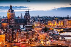 Photograph Amsterdam downtownby Stephan Kruse on 500px