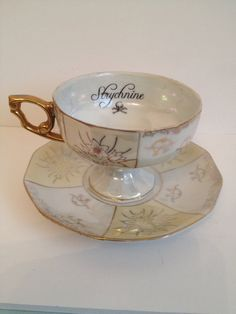 The last tea cup you'll ever drink from. Coffee Set, Coffee Cups, Cute Tea Cups, Tea Art, Rose Tea, Tea Cup Saucer, Mug Cup, Afternoon Tea, Tea Time