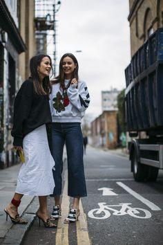 London Fashion Week Fall 2017 Street Style Day 5 - The Impression