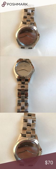 Authentic  Marc Jacobs Watch. No trade Marc Jacobs watch, battery drained, excellent condition Marc by Marc Jacobs Accessories Watches